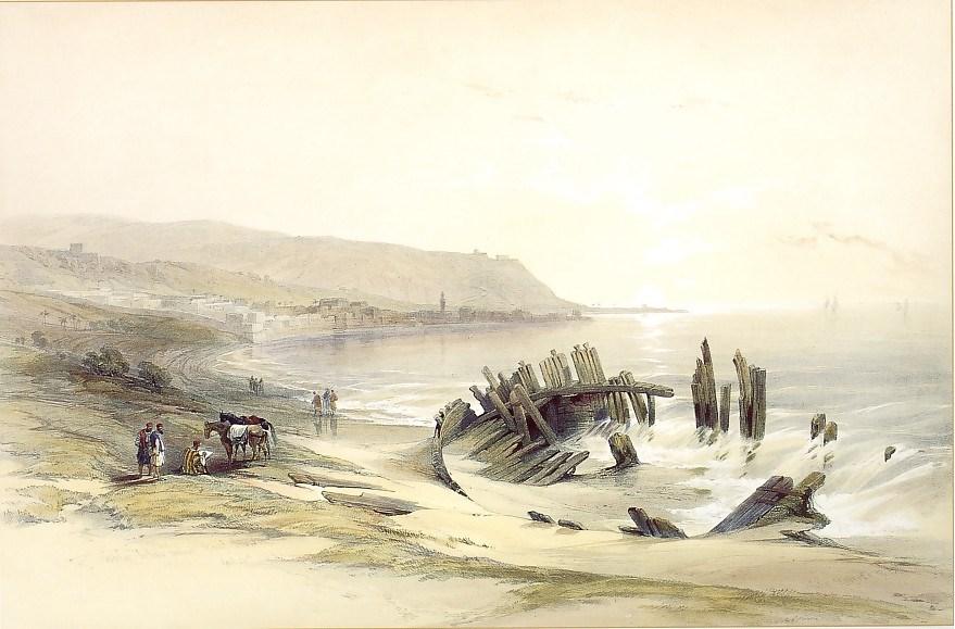 Caiphas, looking towards Mount Carmel