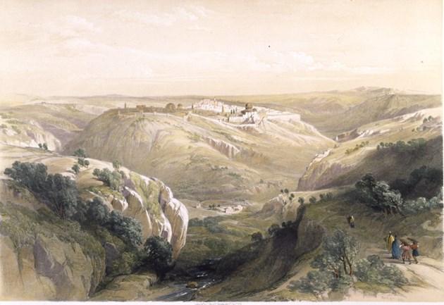 Jerusalem from the South
