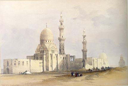 Mosque of Ayed Bey in the Desert of Suez