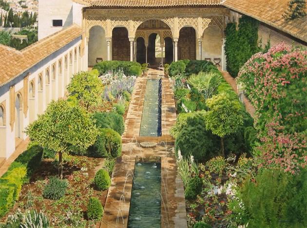 Generalife Gardens, Alhambra