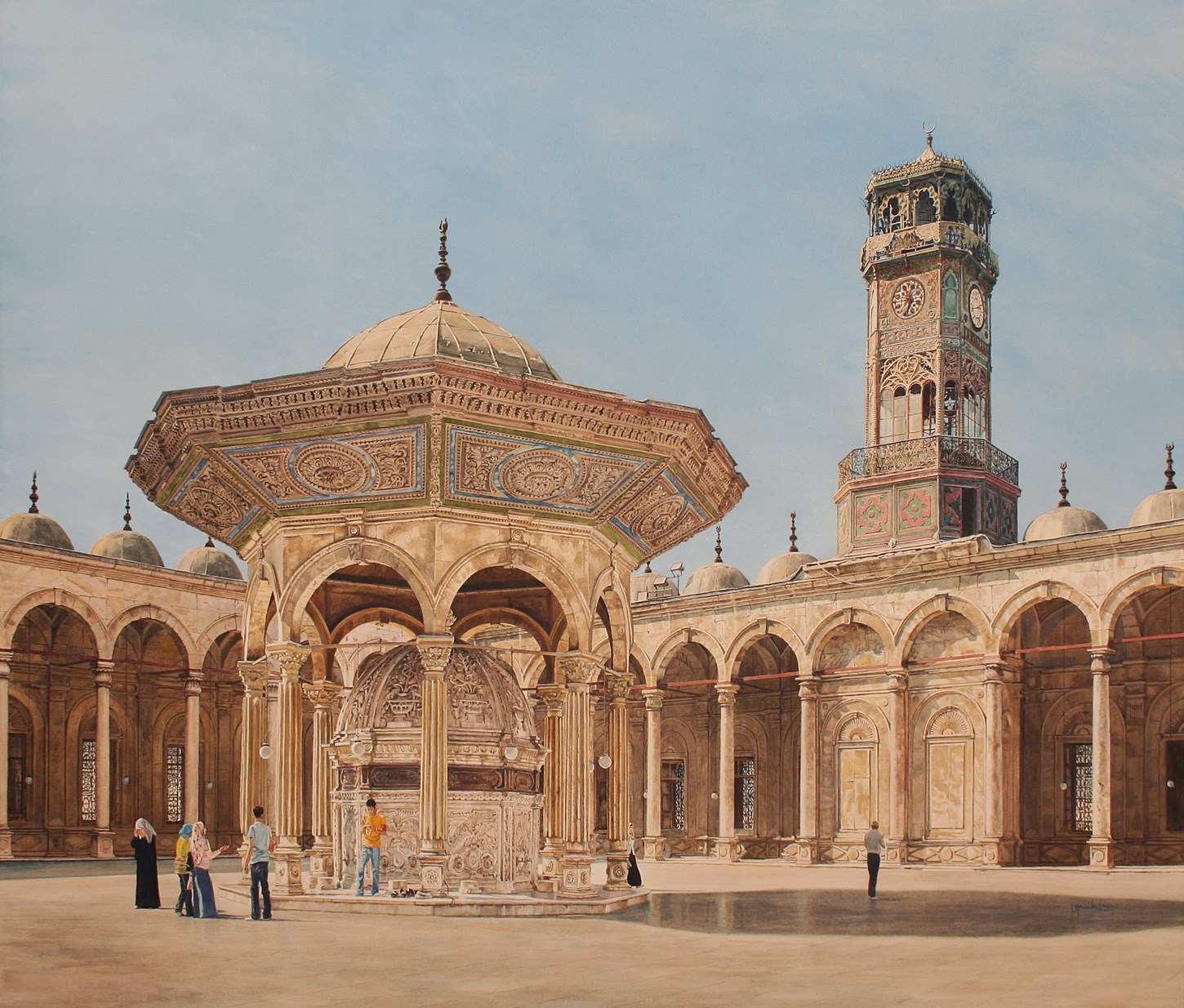 Mosque of Mohammed Ali, Cairo