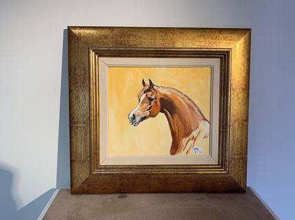 Chestnut Stallion - head study