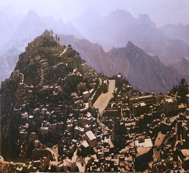 Hajjah from the Old Prison, Northern Yemen