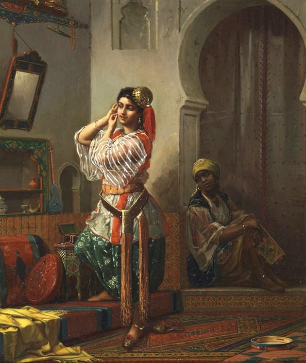 The Moorish Boudoir