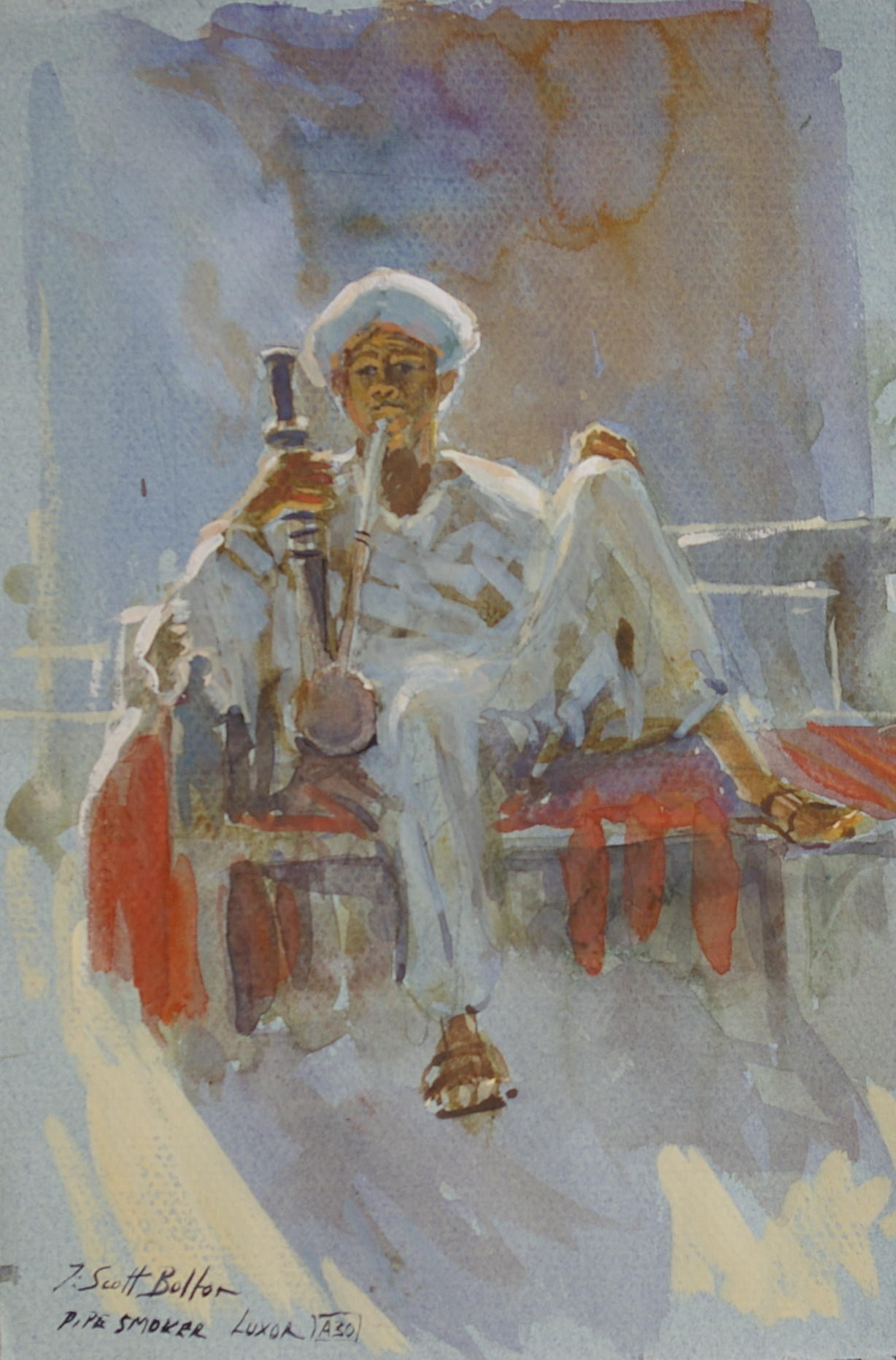 Pipe Smoker, Luxor