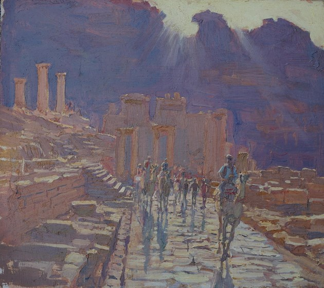 Colonnaded Street, Petra