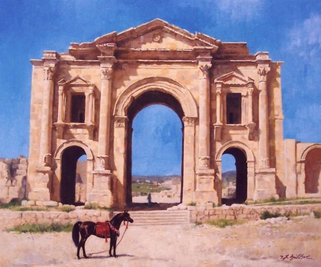 Hadrian's Triumphal Arch, Jerash