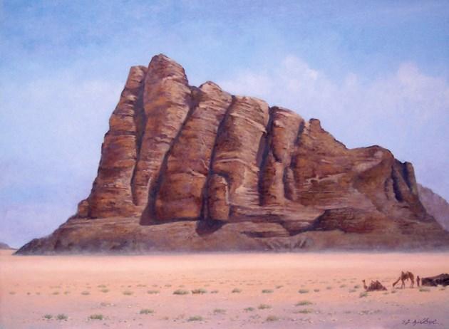 Mountain of the Seven Pillars