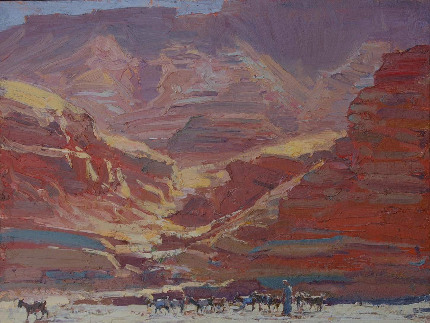 The Red Cliffs, Tamdaght