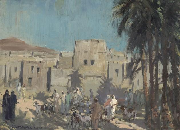Goats at Al Hamra