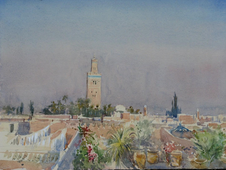 Koutoubia (rooftops) Marrakesh