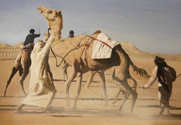 The start of the race. Thumrayt, salalah, Oman