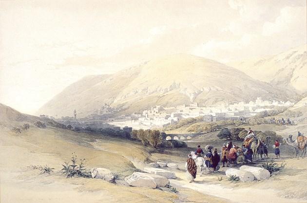 Nablous, Ancient Shechem