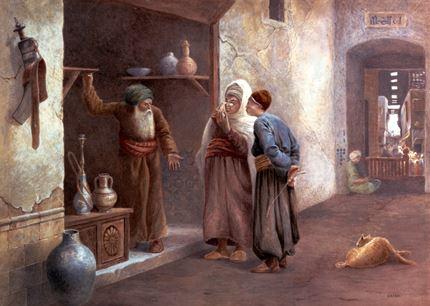 Arab Traders, Cairo