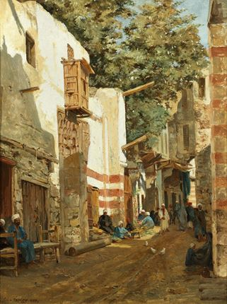Street of the Sharouri, Cairo