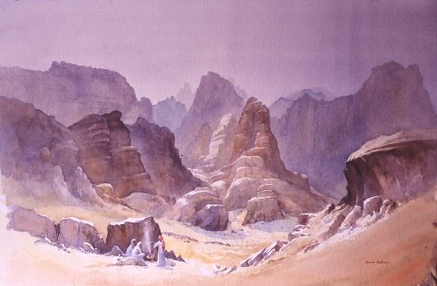 Bedouin Tea, Kazareh Canyon, Rum