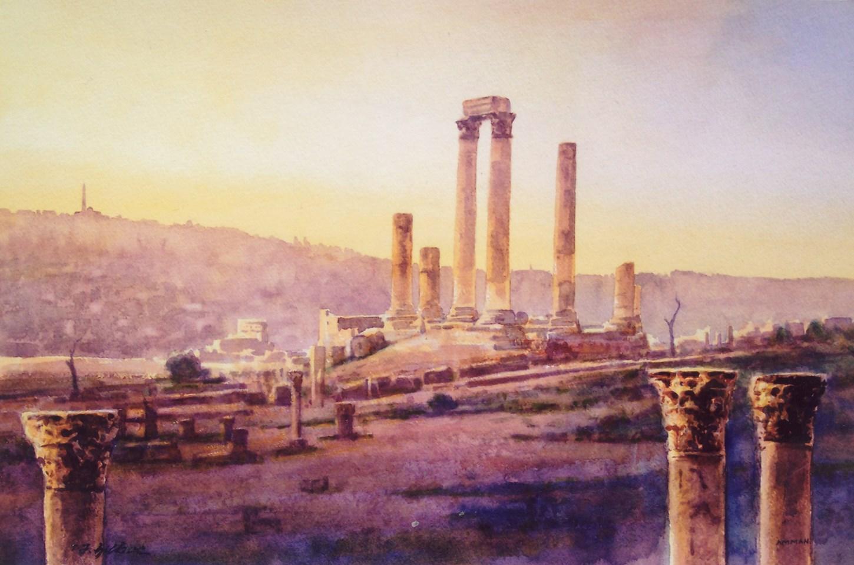 Temple of Hercules, Amman Citadel