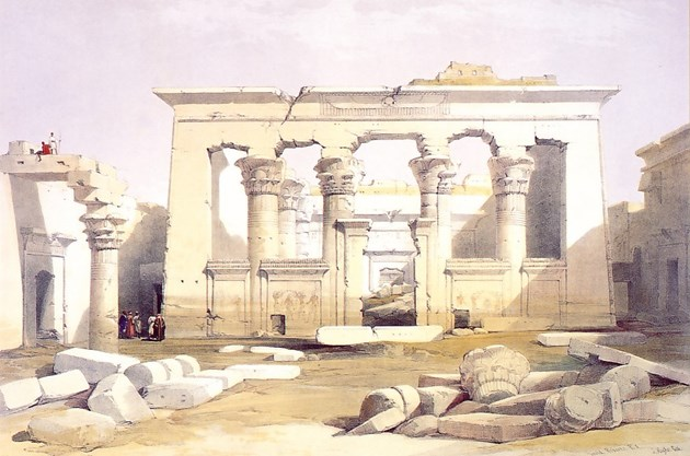 Portico of the Temple of Kalabashe