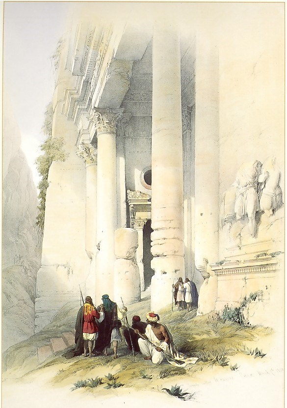 Lower Portion of El Khasne, Petra