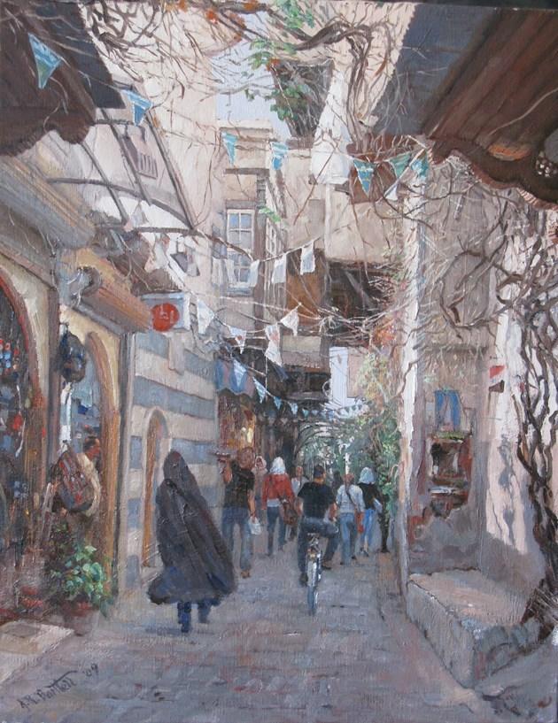 Street in Bab Toomi, Damascus