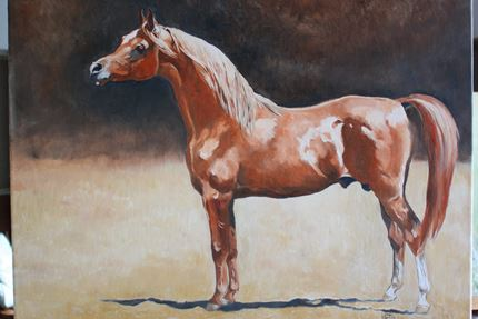 The Chestnut Stallion